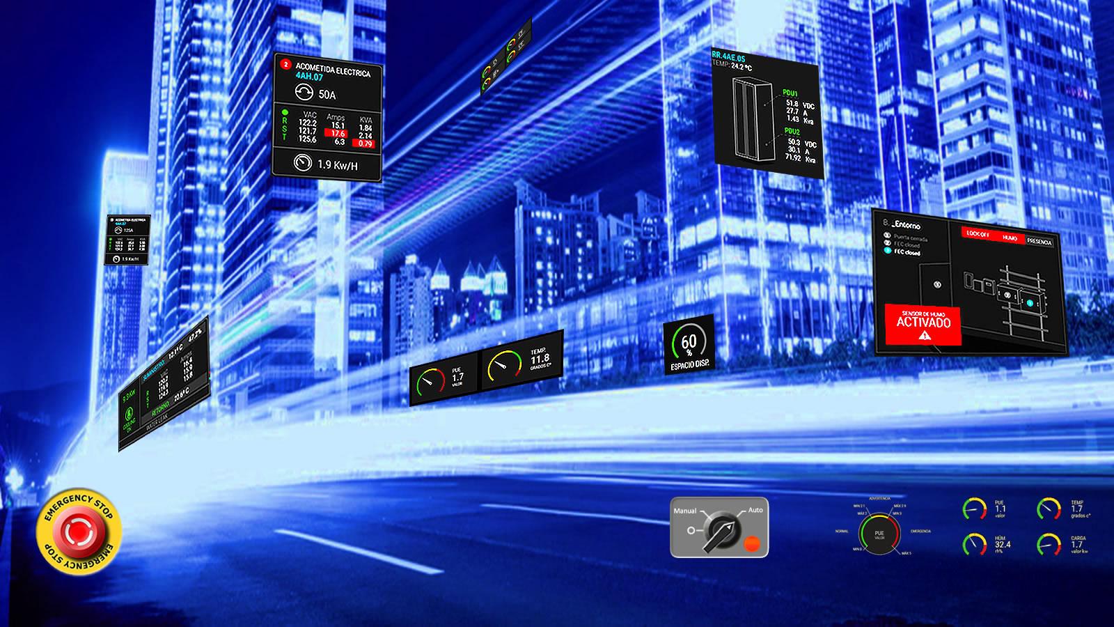 DCIM Monitoreo Infraestructura Critica GDCIM Cloud Device